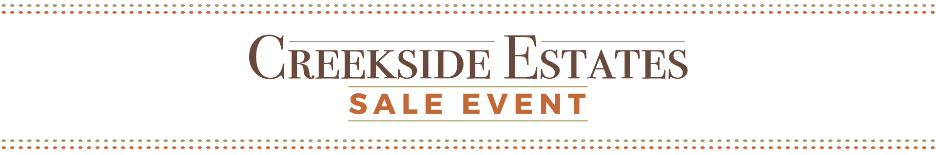 creekside_estates_sale_event